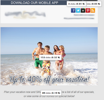 Effective Placement of Links in Vacation Rental Email